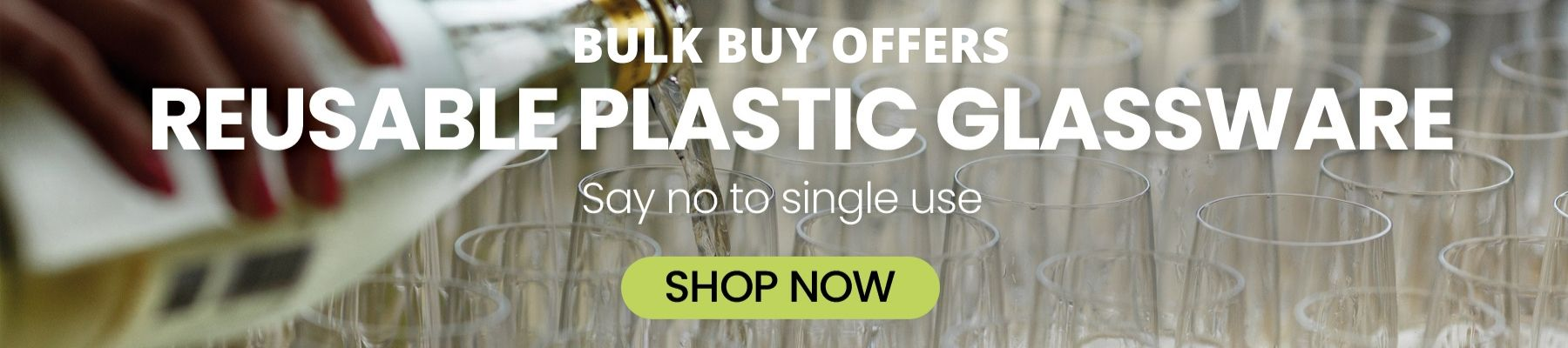 Bulk Buy Offers Wholesale Reusable Plastic Glasses