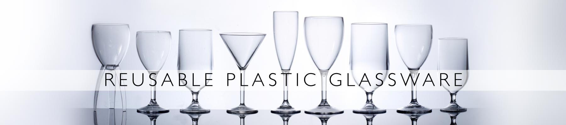 Reusable Plastic Glassware
