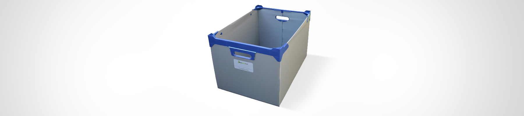 Correx Storage Box, Archive Box, Paperwork Box