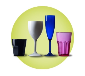 Coloured Glasses Polycarbonate