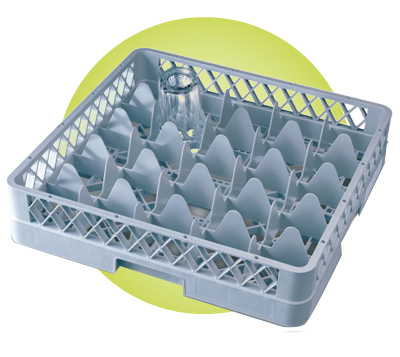 Dishwasher Compartment Glass Racks