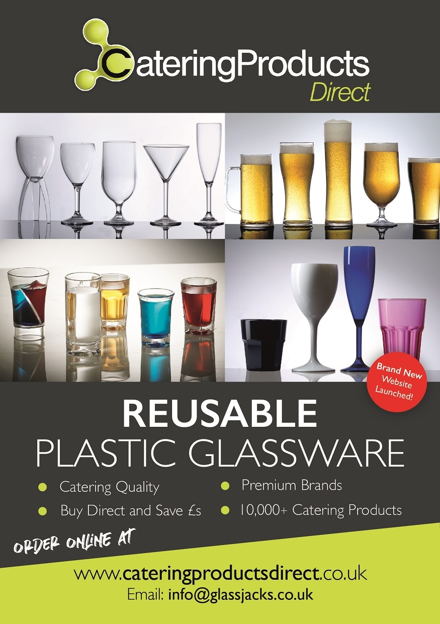 Reusable Plastic Glassware - Catering Products Direct