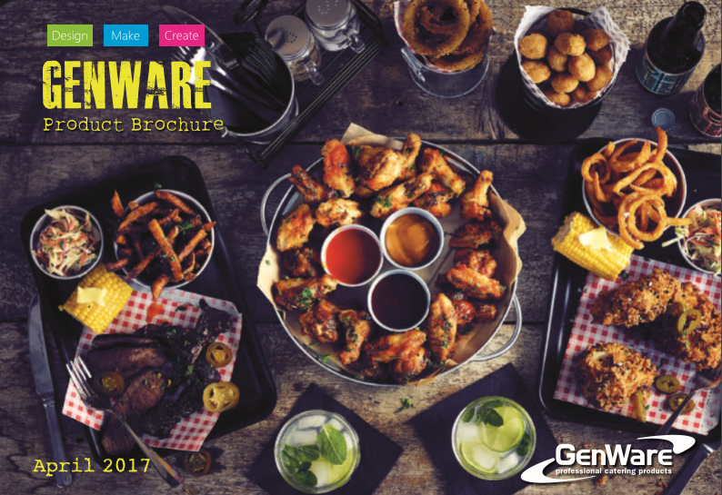 Catering Products Brochure - Genware - April 2017